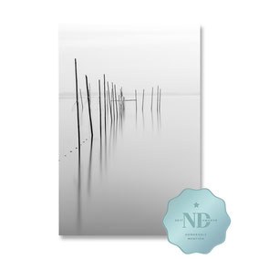 ND Photography Awards 2017, Berlin, Müggelsee, Langzeitbelichtung, long exposure, schwarz-weiß, Minimalismus, minimalism, minimalist, minimalistisch, Holger Nimtz, Wandbild, Kunst, fine art, Fotokunst, Photography,