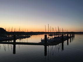 Entspannung und Erholung pur am Segelhafen Brombachsee