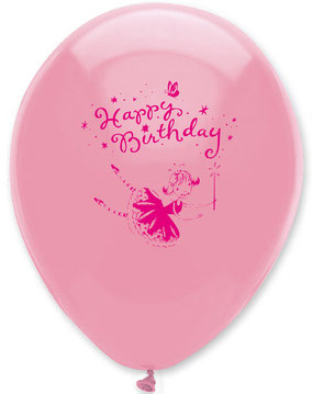 BALLONS DECO ANNIVERSAIRE FEE- FAIRY PARTY BALLOONS