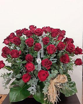 Centro de rosas.