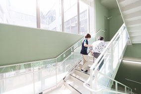 リハビリ階段