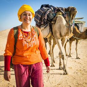 Méditation accompagné dans le désert Maroc