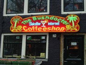 Coffeeshop bushdocter amsterdam