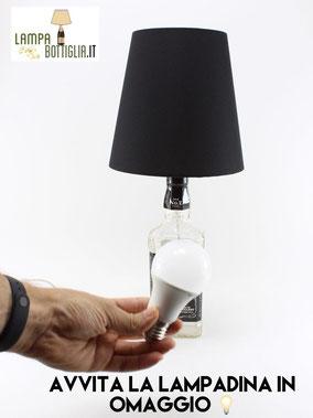 TUTORIAL LAMPADA JACK DANIELS