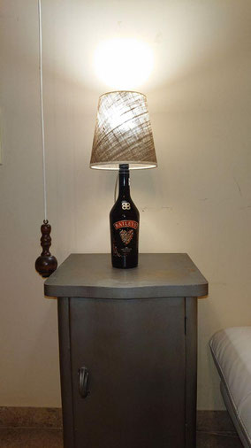 lampada bottiglia baileys