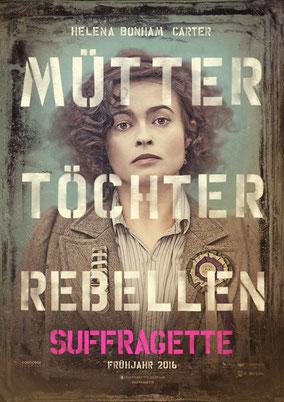 Sarah Gravon - Suffragette - Film - mit Helena Bonham Carter - Concorde - kulturmaterial