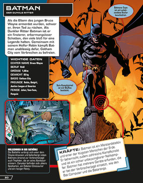 DC Comics - Batman - Dorling Kindersley - kulturmaterial