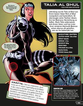 DC Comics - Talia Al Ghul - Dorling Kindersley - kulturmaterial