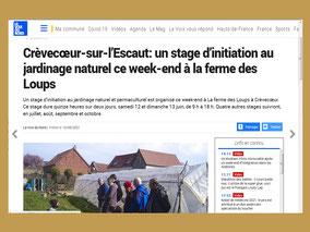 Article de Claude Lienard du 4 mai 2017 pour L'Observateur du cambrésis