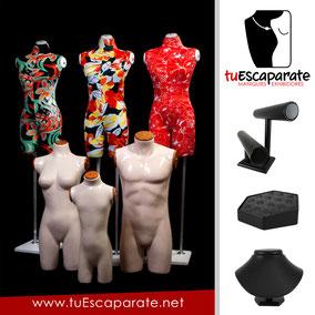 ¡Tus diseños merecen los mejores Maniquíes y Exhibidores, visita nuestra tienda en línea!