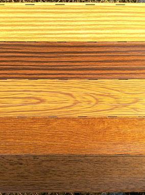 Colores persianas de aluminio imitación madera en PERSIATEC (Murcia)