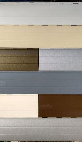 Colores persianas  de aluminio en PERSIATEC (Murcia)