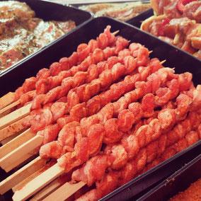Grillfackeln - Fleischerei Bechtel - Grillfest