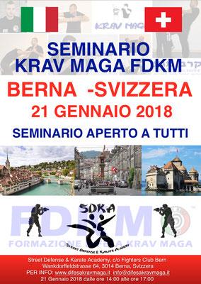 SEMINARIO FDKM BERNA SVIZZERA GENNAIO 2017
