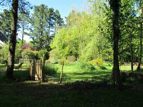 Portillon jardin chambres d'hôtes de Ker Holen à Saint-Lyphard