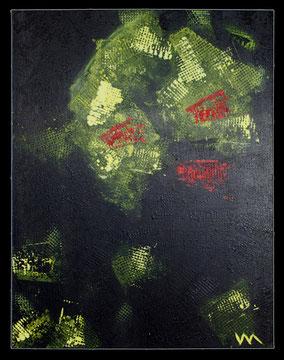 Kunst Veronika Matzner Acryl Leinwand