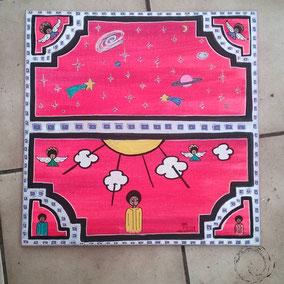 Cryinsoul Artwork Acrylique 40/40 100e plus frais de port