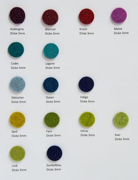 Woll-Bastelfilz 1mm (Dekorfilz) kaufen