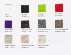 Designfilz 100% Wolle kaufen