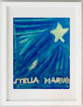 STELLA MARINA, 2020, Acrilico, 24 X 30