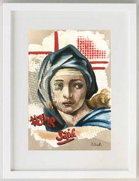 Sibyl, 2020, Olio, 20 x 30