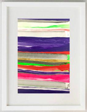 """""""ALONG THE RIVER"""", Acrilico, 20 x 30"""