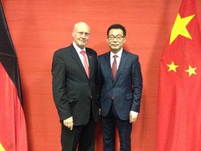 Ex-Generalkonsul WANG Shunqing