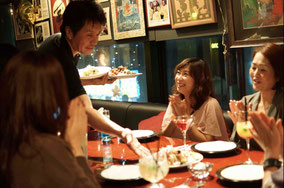 福岡の女子会パーティー