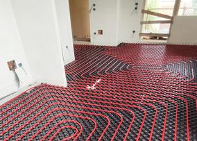 posa impianto riscaldamento a pavimento