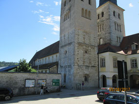 Berching: Wanderstrecke durchs Kloster Plankstetten...
