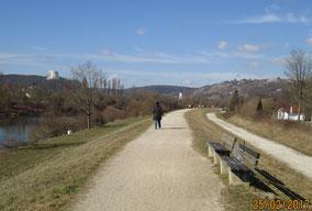 02/17: WT Kelheim Befreiungshalle, RMD-Kanal (=Altmühl)