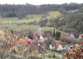 WT Rothenbg.: Idylle im Taubertal