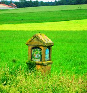 Traditionsbewusstsein (Bildstock zw. Krickelsdorf und Atzmannsricht)