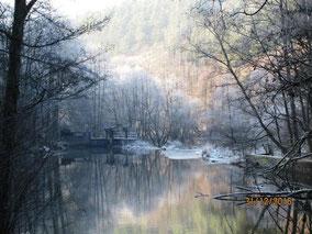 WT Neunburg: das Schwarzachtal im Winter