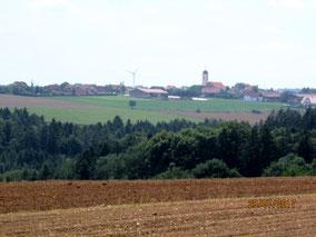 07/17: WT Hohenschambach:  Rückweg 20er