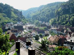07/17: WT Pottenstein, Blick Richtung Osten