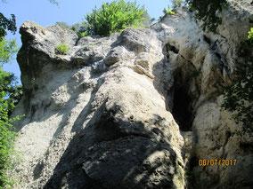 Pottenst.: Felsformationen im Püttlachtal