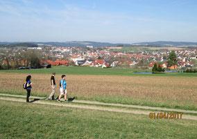 04/17: WT Oberviechtach: Blick auf OVI