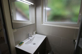 Lavabo Toilettes Douche italienne