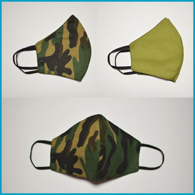 Modell CAMOUFLAGE III forest - limette S