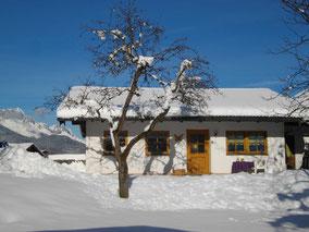 Ferienwohnung Lindeneck im Winter