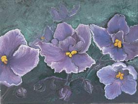 floral, oil on canvas  30x40 cm, 2014