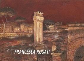 ROMA, OLIO SU TELA , 30X40 CM, ANNO 2014