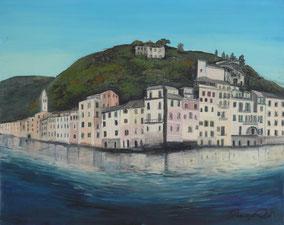 Portofino, oil on canvas, 40x50 cm, 2011