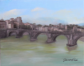 ROME, OIL ON CANVAS, 40X50 CM, YEAR 2012