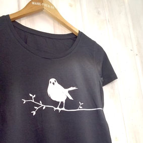 WARE FREUDE, Manufaktur für besondere T-Shirts für Damen bio, fair, handveredelt