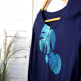 WARE FREUDE, Manufaktur für ausgefallene T-Shirts für Damen bio, fair, handveredelt