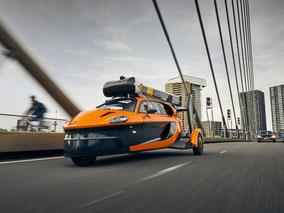 MAG Lifestyle Magazin Auto Autos fliegen erstes fliegendes Auto PAL-V Liberty Straßenzulassung Europa