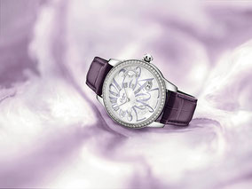 MAG Lifestyle Magazin online Uhren Glashütte Original Damenarmbanduhr PanoMatic Luna Luxus Schmuck