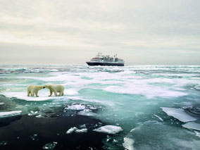 MAG Lifestyle Magazin Reisen Urlaub Kreuzfahrten Luxus Silversea Cruises durchquert erstmals die Nordostpassage
